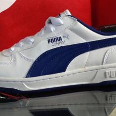 Adidasi originali PUMA CONTEST - Adidasi dama Puma, Marime: 38, 38.5, Culoare: Alb, Piele naturala