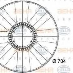Paleta ventilator, racire motor IVECO EuroTech MT MT 180 E 34 R - HELLA 8MV 376 741-171 - Ventilatoare auto
