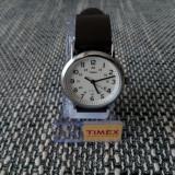 Ceas barbatesc elegant Timex Indiglo Weekender Slip, nou, cutie, adus din SUA, Quartz, Inox, Piele, Rezistent la apa