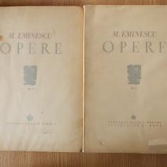 MIHAI EMINESCU- OPERE, editie ingrijita de Perpessicius- 1943/1944, vol II, III - Carte Editie princeps