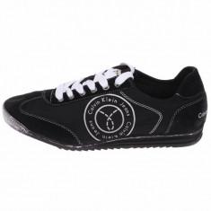 Adidasi barbati Calvin Klein Jeans_in cutie_40_livrare gratuita, Culoare: Negru, Piele naturala