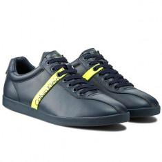 Adidasi barbati Calvin Klein Jeans_piele_in cutie_42, 43_livrare gratuita, Culoare: Negru, Piele sintetica