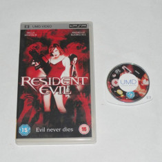 Film Sony Playstation portable PSP UMD - Resident Evil - Jocuri PSP Sony, Curse auto-moto, Toate varstele, Single player
