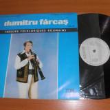 DUMITRU FARCAS 2-Tresors folkloriques roumains disc vinil vinyl pickup pick-up - Muzica Populara