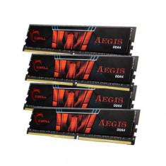 Memorie G.Skill Aegis, DDR4, 64 GB, 2400 MHz, CL15, kit - Memorie RAM