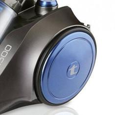 Aspirator Taurus Exeo 2500, 800W, cutie 3, 5 l, putere reglabila, tuburi telescopice, filtru hepa, albastru-negru - Aspiratoare cu Sac