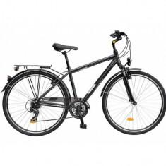 Bicicleta DHS Travel 2855 - model 2015, gri, cadru 460 mm - Bicicleta de oras