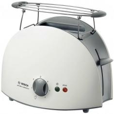 Prajitor de paine Bosch TAT-6101, putere 900W, alb - Toaster
