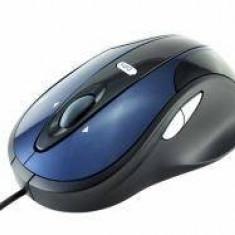 Mouse Modecom M-MC-0910-413, optic MC-910, 1600 dpi, albastru-negru