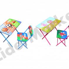 Set masuta si scaun pliabile pentru copii