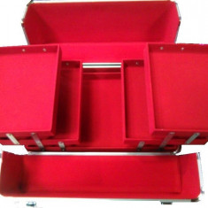 Geanta Cosmetica profesionala pentru manichiura machiaj truse farduri make up - Geanta cosmetice