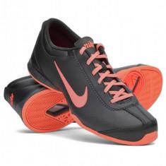 Adidasi de mers pt alergat pt sala dama fata fete Nike Air Musio ORIGINALI 36.5 - Adidasi dama Nike, Culoare: Negru, Piele naturala