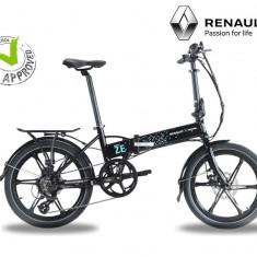 Bicicleta electrica Bizobike Renault ZE - Bicicleta electrice, 22 inch, 16 inch, Numar viteze: 8