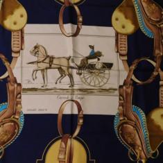 HERMES ORIGINAL SEMNAT PHILLIPE LEDOUX, CARRICK A POMPE 1953 - Batic Dama Hermes, Culoare: Din imagine
