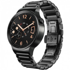 Smartwatch Huawei Watch W1 Steel Black 42MM Black Link Strap