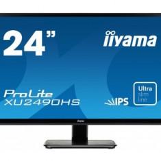 Monitor LED Iiyama Prolite XU2490HS-B1, 23.8 inch, Full HD, 5 ms, negru