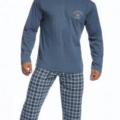 Pijama barbati - Cornette - 124-68 Forest - Pijamale barbati, Marime: S, M, L, XL, XXL, Culoare: Albastru