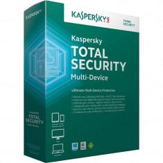 Antivirus Kaspersky Total Security Multi-Device 2015 2 useri 1 an Base License Electronic