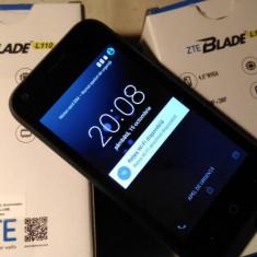 ZTE L110 DUAL SIM NOU NECODAT - Telefon mobil ZTE, Negru, 4GB, Neblocat, Quad core, 512 MB