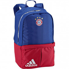 Ghiozdan Rucsac Adidas FC Bayern München Backpack, Autentic, Nou !, Unisex, Albastru