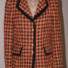 Sacou din lana boucle ESCADA original - Sacou dama Escada, Marime: S/M, Culoare: Din imagine