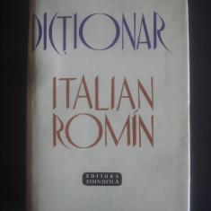 DICTIONAR ITALIAN ROMAN 60000 cuvinte - Curs Limba Italiana Altele