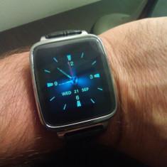 Smart Watch Ceas Bluetooth editie lux material inox si curea din piele Android - Smartwatch Sony