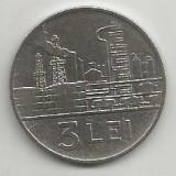ROMANIA RPR 3 LEI 1963 [2] XF, livrare in cartonas - Moneda Romania, Fier