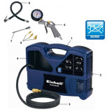 Compresor de aer Einhell BT-AC 180 KIT