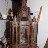 Candela veche pentru lumanare - Metal/Fonta