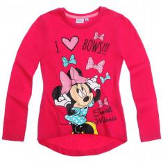 Bluza fete 2-8 ani - Minnie - art. 152496 fucsia, Marime: Alta, Culoare: Rosu