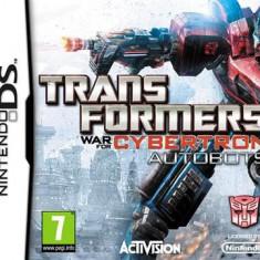 Transformers War For Cybertron Autobots Nintendo Ds - Jocuri Nintendo DS Activision