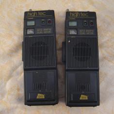 Doua statii radio vintage High tec 4012 - Statie radio