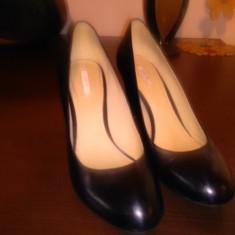 Pantofi - Pantof dama Geox, Marime: 38 2/3, Culoare: Negru