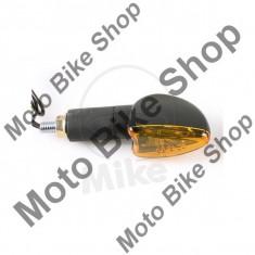 MBS Set semnalizari Shin Yo Arrow, 12V/21W, brat lung 38mm, prindere M10, negru, Cod Produs: 7050585MA - Semnalizatoare Moto