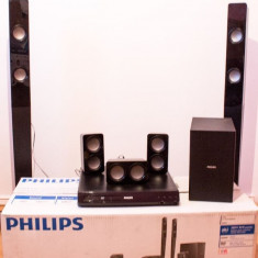 Home Cinema - Philips 5.1 - 300W - Ca NOU - Sistem Home Cinema