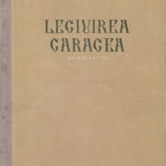 Andrei Radulescu - Legiuirea Caragea - 621909 - Carte Drept administrativ