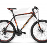 Bicicleta Mountainbike Hardtail Kross Hexagon X4, 19 inch, 26 inch, Numar viteze: 21