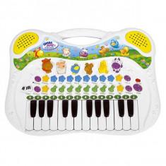 Orga muzicala cu sunete de animale 4015670 Simba - Jucarie interactiva