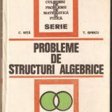 C.Nita-Probleme de structuri algebrice - Carte Matematica
