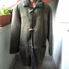 COJOC DIN BLANA NATURALA SHEARLING MARIME 54 - Palton barbati, Culoare: Din imagine