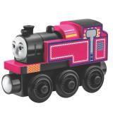 Locomotiva Ashima, Thomas si prietenii sai - Trenulet de jucarie Fisher Price, 4-6 ani, Lemn, Unisex