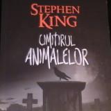 CIMITIRUL ANIMALELOR-STEPHEN KING-462 PG- - Carte Horror, Nemira