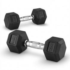 Capital Sport Hexbell 7.5 pereche gantere 7.5 kg