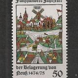 Germania.1975 500 ani asediul orasului Neuss SG.340 - Timbre straine, Nestampilat