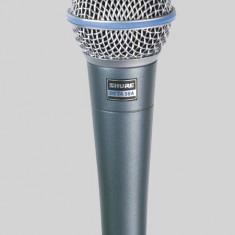 Microfon Shure Incorporated Shure Beta 58A profesional cu fir pentru concerte