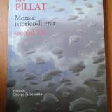 19454 DINU PILLAT - MOZAIC ISTORICO-LITERAR SECOLUL XX