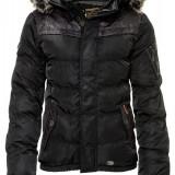 Geaca de Iarna Barbati Khujo Neagra Frankfurt - Geaca barbati Khujo, Marime: XL, Culoare: Din imagine