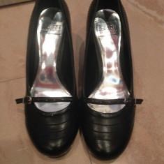 Pantofi dama marca ESPRIT marimea 38 - Pantof dama Esprit, Culoare: Negru, Piele sintetica