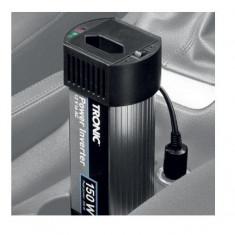 Convertor de tensiune auto 12V la 220 - 240V, 150W, TRONIC - Invertor Auto